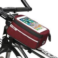 """6"""" Bici Ciclismo Bag Borsa Borsetta TUBO anteriore impermeabile Porta Cellulare"""