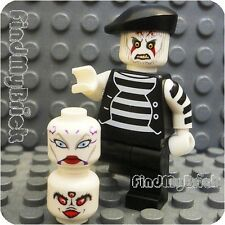 M506 Lego Ghost Mime Zombie Skeleton Asajj Driver Buster Pau'an Minifigure NEW