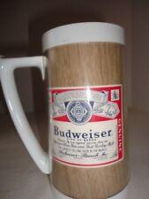 Vintage Budweiser Thermo-Serv Mug 16 ozs. Never Used