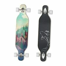 42inch Freeride Longboard Complete Cruiser ( Drop Through Deck - Camber Forest