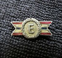 Sterling Silver WW II Army Navy War Time Equipment Production Award Pin