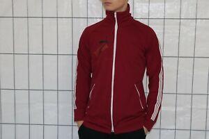 Puma Vintage Trainingsjacke Jacke Gr. ca. M  track jacket Weinrot BG4