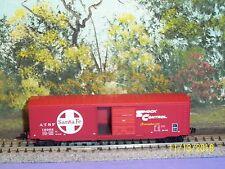 MICRO-TRAINS N SCALE #077 00 150 STANDARD BOX CAR SINGLE DOOR  A. T. & S. F #.