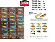 Rapala Minnow Spoon Weedless / 5cm 6cm 7cm 8cm 10cm / 6g - 32g / Various Colours