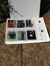 1997 Topps Photos Tiger Woods Golf Complete Set ROOKIE Card Graded 10 PSA/DNA