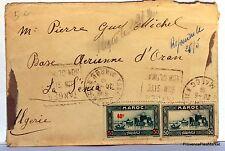Lettre TIMBRE  MAROC FES 1939   AV83