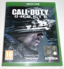 Xbox ONE - CALL OF DUTY GHOSTS - Edizione ITALIANA perfetto
