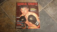 OLD WORLD SPORTS MAGAZINE, JAN 1962 TERRY DOWNES BOXING