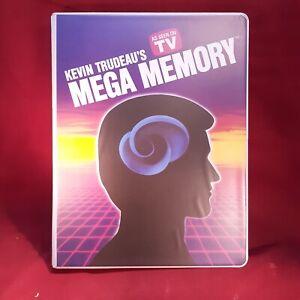Kevin Trudeau MEGA MEMORY 9 Audio Tapes + Pocket Guide & Workbook, Nightingale