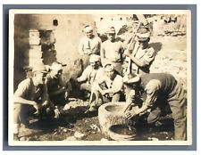 Japan, Japanese soldiers  Vintage silver print  Tirage argentique  8  Circ
