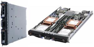 Lenovo / IBM BladeCenter HS22 7870 mit 2x Intel Xeon L5640 6C, 16GB RAM, 10 Gbit