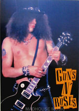 GUNS N ROSES Slash Topless STICKER - OLIVER BOOKS UK Official 1994 2 ONLY