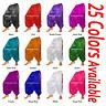 TMS Satin Slit Harem Yoga Pant Belly Dance Pantalon Danse Orientale   27 Colors