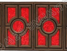 ROWE AMI JUKEBOX - MM-4 MEDITERANEAN FRONT MOULDING DIFFUSSER COLOURED PANEL NEW