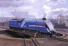 Railway Engine Locomotive Steam Train A4 Commonwealth of Australia Birthday Card