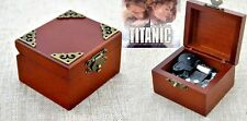 Vintage Classic Square Wind Up Music Box : My Heart Will Go On