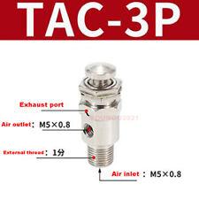Tac 3p Air Pneumatic Mechanical Exhaust Valve 2 Port 3 Position Switch Valve 18