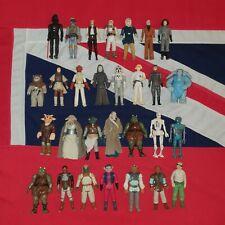 Vintage Kenner Star Wars Action Figures x 29 JOB LOT BUNDLE Boba Fett Max Rebo