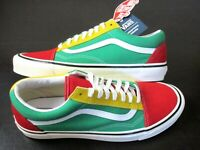 Vans Mens Old Skool 36 Dx Anaheim Factory shoes OG Red Yellow Green Size 11 NWT