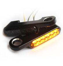 """""""IRON OPTICS"""" LED Blinker Blinkerhalter für Lenkerarmaturen HD V-Rod Modelle -07"""