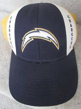 NFL San Diego Chargers Hat Cap Size 7 5/8 Cap Reebok On Field