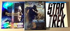 3 Great Si Fi movies Star Trek, Percy Jackson and the Sea Monster, King Kong