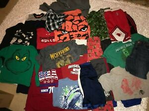 25-Pieces Lot of Boys Super Heroes Sports Clothes Sizes 14-16 18-20 Nike Addias