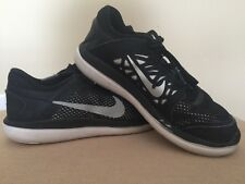 NIKE FLEX EXPERIENCE 2016 RUN BOYS BLACK LACE SNEAKER-SIZE 12C