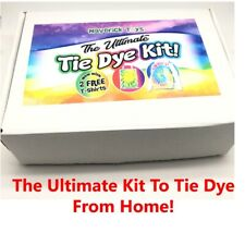 Ultimate UK Tie Die Kit (Tie) - 12 Colours, T-Shirts Arts Crafts Professional