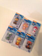 Paw Patrol Mini Figures Toys Cake Toppers Set of 6 Nickelodeon