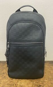 Louis Vuitton Damier Infini Onyx Leather Michael Backpack N41330