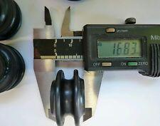 4.Lathe round belt pulleys.6mm.Unimat type.