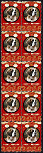 SAINT BERNARD YEAR OF THE DOG 2018 STRIP OF 10 MINT STAMPS