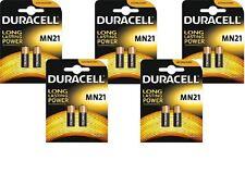 10 x Duracell MN21 A23 12V Batería 23A LRV08 K23A E23A batería de Duracell