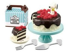 Rement Peanuts Snoopy's Chocolate Cafe Shop Chocolate Cake - No.6