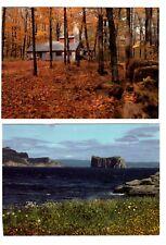 Canada:Quebec: 2 Postcards (Lot 1)