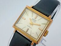 Vintage Women's Camy Silver Dial Hand-Winding Swiss Made Wrist Watch Excellent