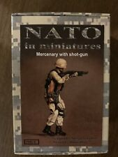 Nato in Miniatures #PMC-4 1/35 Resin Mercenary With Shotgun