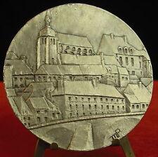 Médaille St Jean Yonne Bourgogne.signée Marcel Poulet 79 Medal 勋章