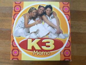 K3 MEMO SPEL GAME 72 KAARTEN, 36 PAAR, KAREN DAMEN,KRISTEL VERBEKE,KATHLEEN AERT