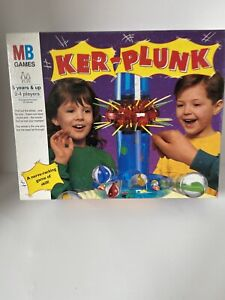 Vintage MB Games - Ker-Plunk - A Nerve-Racking Game of Skill - 5 years & Up