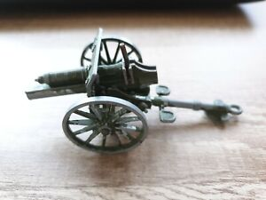 Toy Cannon - Green - Spring Loaded Action - Used Condition