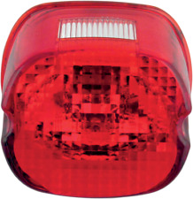 Drag Specialties 0902-6320 Laydown Taillight Lens with Top Tag Window