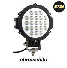 4x 12V 24V 63W LED WORK SPOT LIGHT LAMP CAR JEEP TRUCK BOAT OFFROAD ATV CHASSIS
