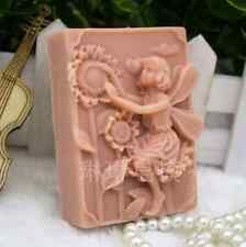 Craft Soap Molds Fairy Silicone Candle Soap Making Mould Diy Handmade Mold