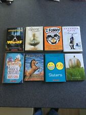 """Scholastic Children's Books Lot Of 6 Plus 2 Other Kids Books """"Woof , I Funny """""""