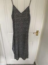 Womens Motel Rocks Leopard Print Maxi Dress Grey Size Small
