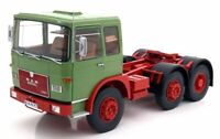Road Kings 1/18 Scale RK180052 - 1972 MAN 16304 F7 Tractor Truck Green/Red