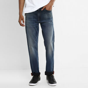 Levi's 513 Slim Gerade Premium Herren Jeans - Bargeld Mittlere Waschung