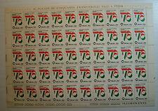 1976  ITALIA  150 lire  Esposizione Mondiale di Filatelia    foglio intero MNH**